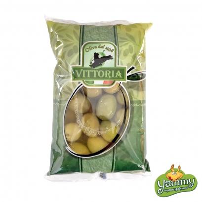Оливки гігантські з кісточкою Vittoria 850г