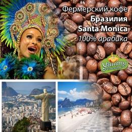 Фермерский кофе Бразилия Santa Monica