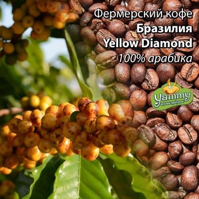 Фермерска кава Бразилія Yellow Diamond Lot#1
