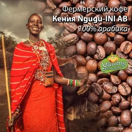 Фермерский кофе Кения Ngugu-INI AB