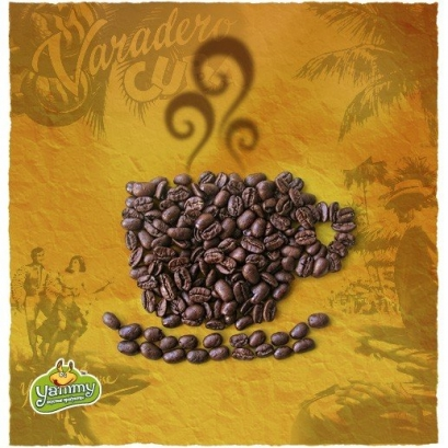 Гватемала Марагоджип арабика кофе в зернах