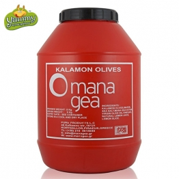 Оливки сорта Каламон (Каламатас) 5 кг, Греция